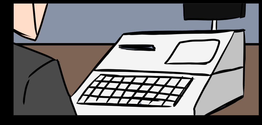 comic-cash-register