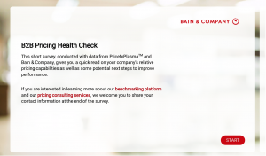 B2B Pricing Health Check